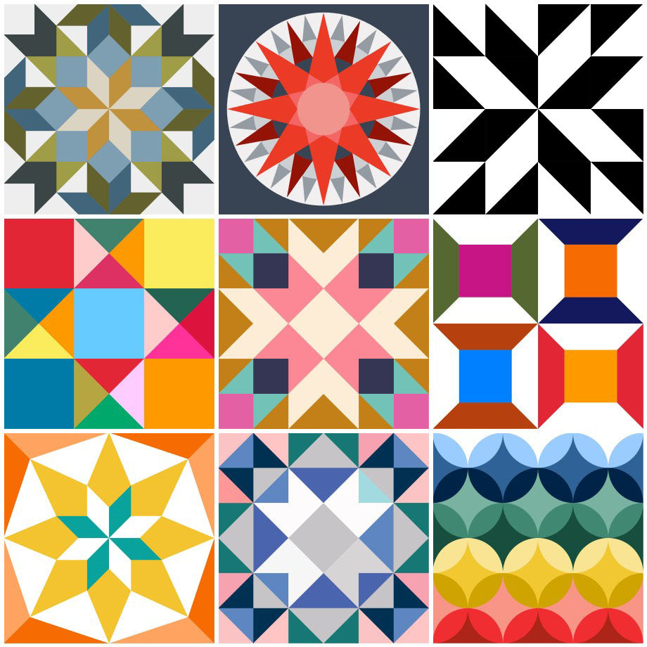 Barn Quilt designs by Put a Quilt on It