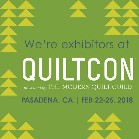 QuiltCon Exhibitor Badge - Modern Barn Quilts