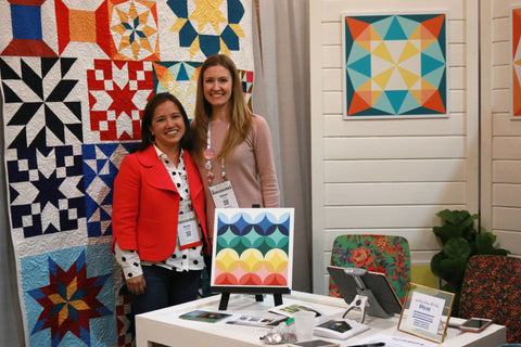 Quiltaposy at Quiltcon