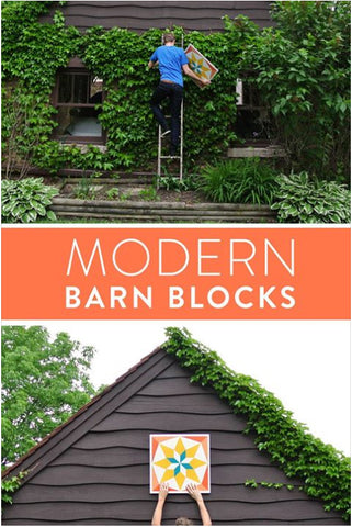 Suzy Quilts Modern Barn Blocks