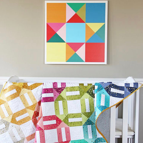V and Co Quilt Pattern