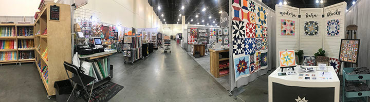 Quiltcon Vendor Hall Pano