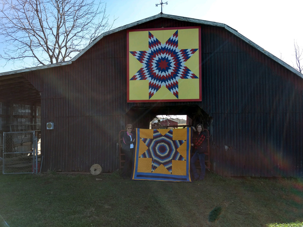 Walden James Barn Quilt part of the Alabama Barn Quilt Trail