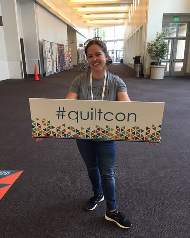 #quiltcon sign