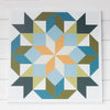 Calaveras Modern Barn Quilt from Put a Quilt on It