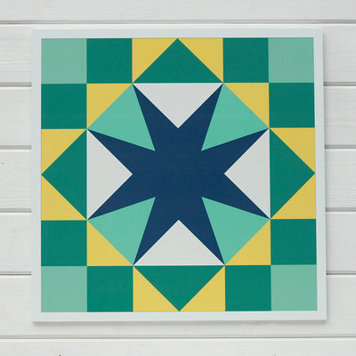 Community Barn Quilt designed by Pamela Quilts for #putmyquiltonit