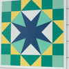 Contest winning design barn quilt by Pamela Quilts
