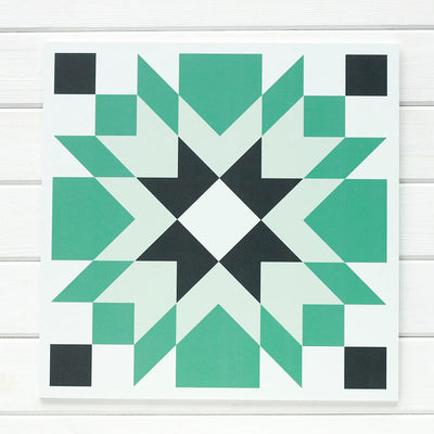 Cruz - the brand new barn quilt for sale from Put a Quilt on It