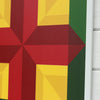 Detail of Glory - new barn quilt from Put a Quilt on It
