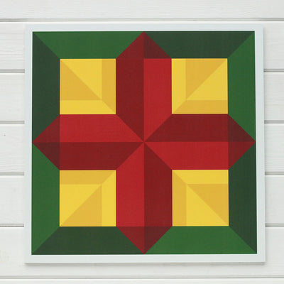 Christian Barn quilt inspired by Matthew 5:16