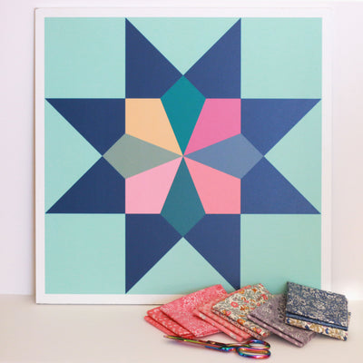 Heirloom Modern Barn Quilt for Sale