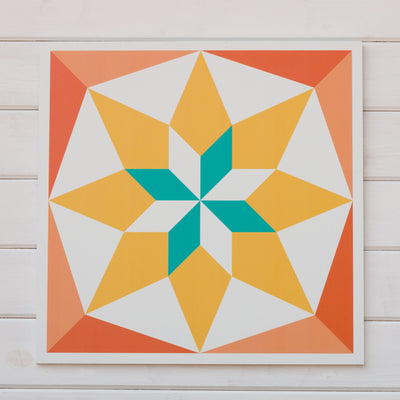 Sun Room Barn quilt - part of the Sunny Days bundle deal