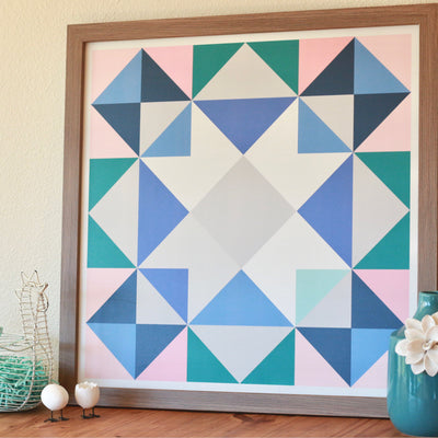Topanga modern barn block - a cheerful spring addition for indoor and outdoor decoration