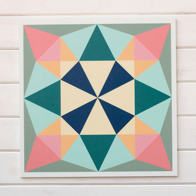 Treasure - a new Modern Barn Quilt from Put a Quilt on It