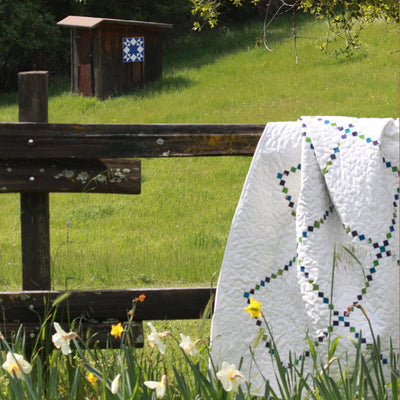 Truth - A classic blue and white barn quilt from Put a Quilt on It