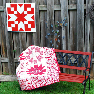 Pat Sloan Tradition Modern Barn Quilt for Sale from Put a Quilt on It