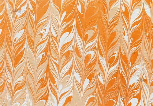 Abstract paintings, Wall Art, - ORANGE TRAILS -