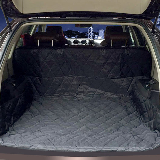 Dual Use Soft SUV Dog Car Trunk Mat Pet Seat Cover Barrier