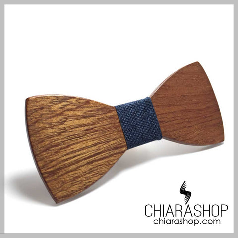 Solid Wood Butterfly or Bow Ties For All The Gentleman