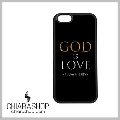 God Is Love Soft Edge iPhone Case