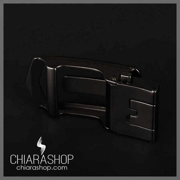 High Quality Cow Genuine Leather Automatic Buckle Minimalist Men's Belt