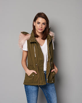 Sleeveless Parka coat by Vero Moda