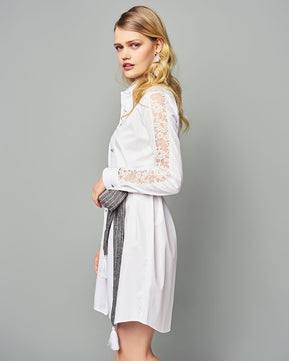 White shirt-dress by Nejma