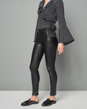 Faux Leather Leggings by Glamorous