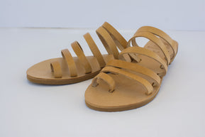 Greek Strappy leather sandals