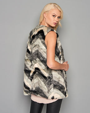 Faux fur Gilet by Vero Moda