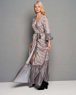 Maxi wrap dress by Nejma