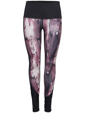 Peace Yoga Tights Moonscape