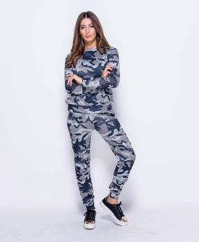 Camouflage Co Ord Loungewear Set by Parisian