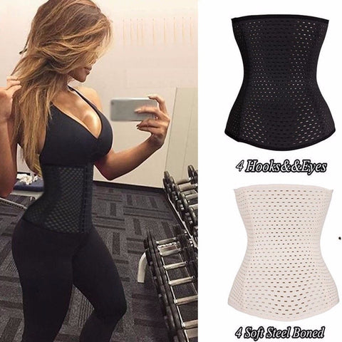 Women Hot Body Shaper Slimming Waist Tummy Belt Waist Cincher Underbust Control Corset Waist Trainer Slimming Belt Shaper M-2XL