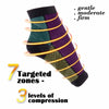 Image of Circulation Swelling Relief ECMLN  Foot Sleeve Men's Socks Anti Fatigue Men Women Ankle Socks 2017 Hot Sox