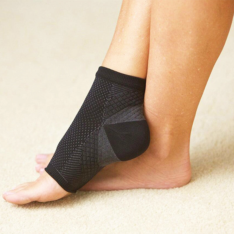 Circulation Swelling Relief ECMLN  Foot Sleeve Men's Socks Anti Fatigue Men Women Ankle Socks 2017 Hot Sox