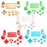 Image of 15 Piece Colored PS4 Button Replacement Sets
