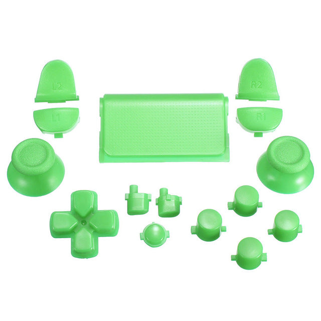 15 Piece Colored PS4 Button Replacement Sets