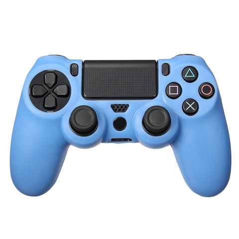 Soft Flexible Rubber Skin Case For Playstation 4 Controller, PS4 Dualshock 4 5 Colors