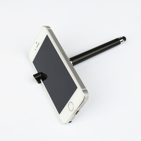 Mobile Phone Stylus + Ball pen + Mobile Phone Stand Holder For iPhone/Samsung