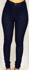 Dark Blue Denim Skinny Jean
