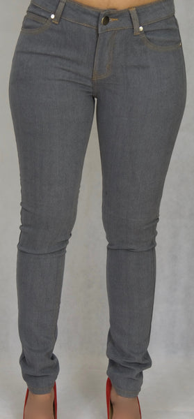 Grey Denim Skinny Jean
