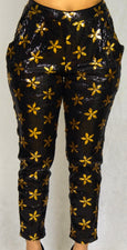 Black & Gold Sequin Pant