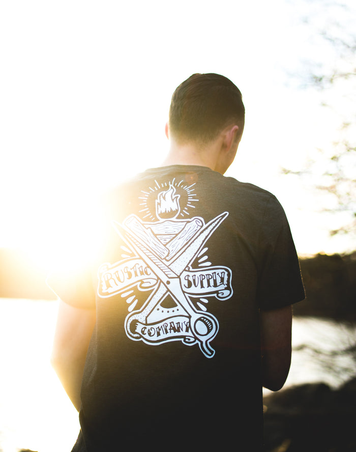 Rustic Supply Co. Pocket Tee