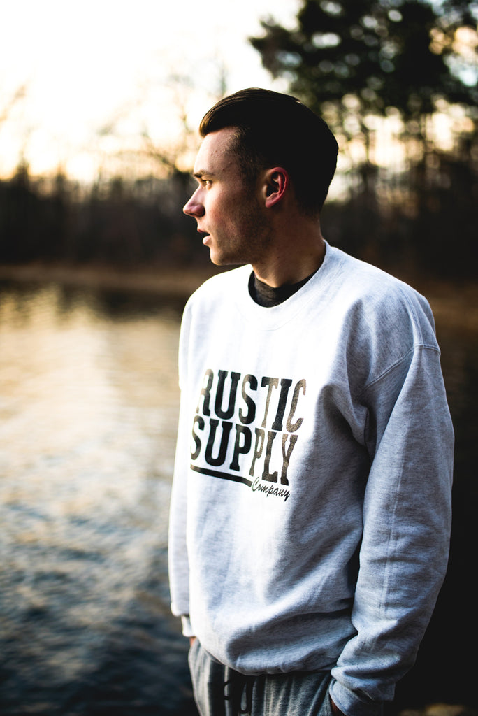 Rustic Supply Co. Crewneck Sweater
