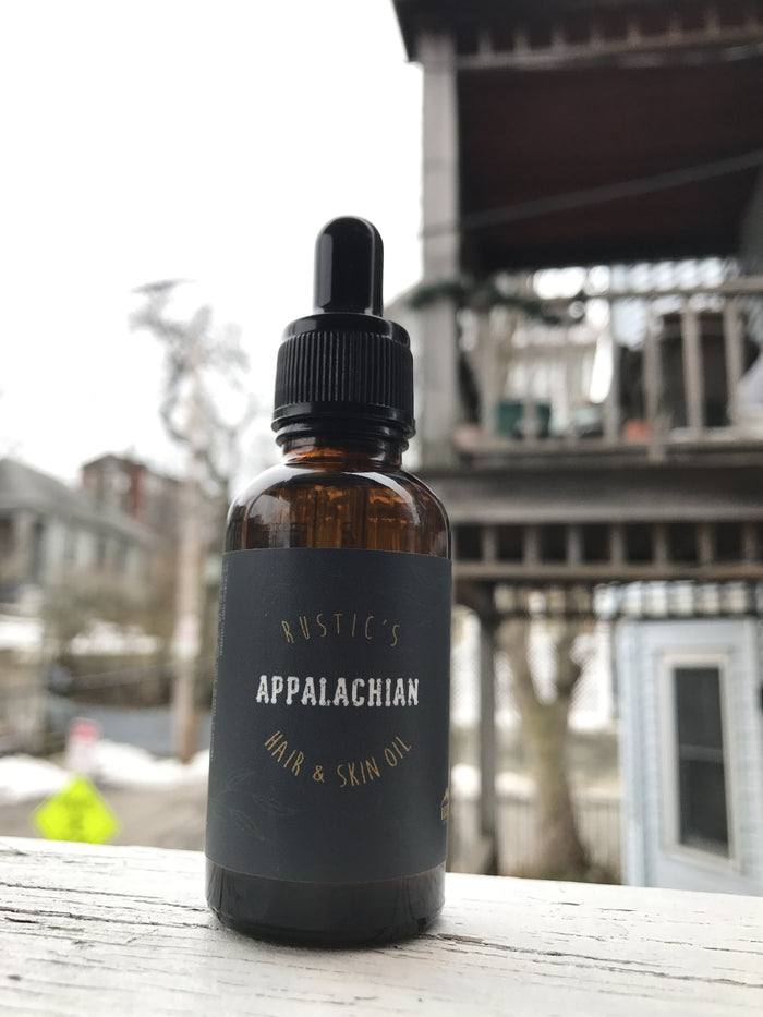 Appalachian Hair and Skin Oil
