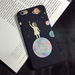 Smooth Cartoon / Animal / Marble Phone Case For iPhone 7 6 6S Plus 5s SE