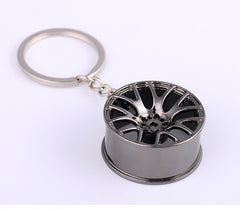 Wheel Rim Keychain