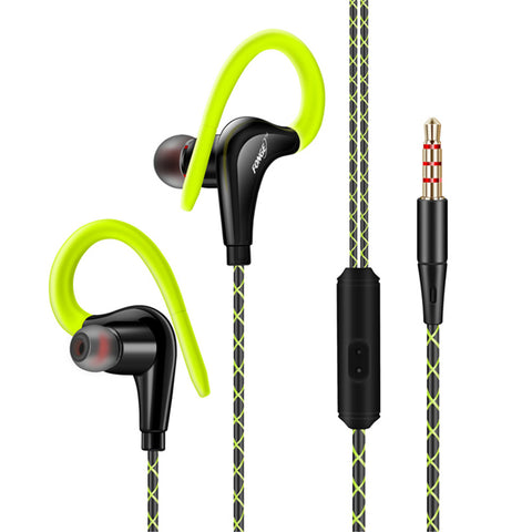 Original Sport In Ear Headphones w/ Mic & Earhook