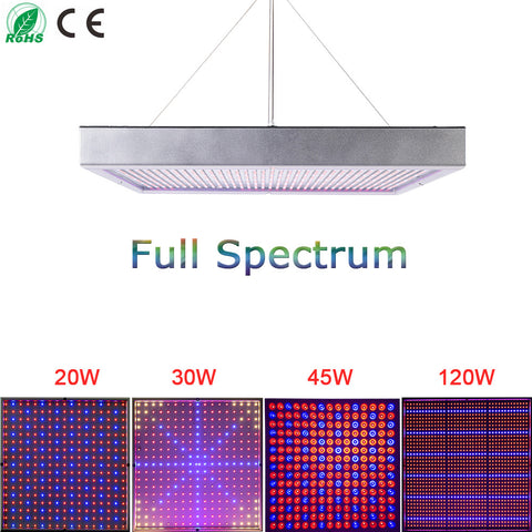 High Power Hydroponic Full Spectrum LED Greenhouse Grow Light 20W/30W/45W/120W